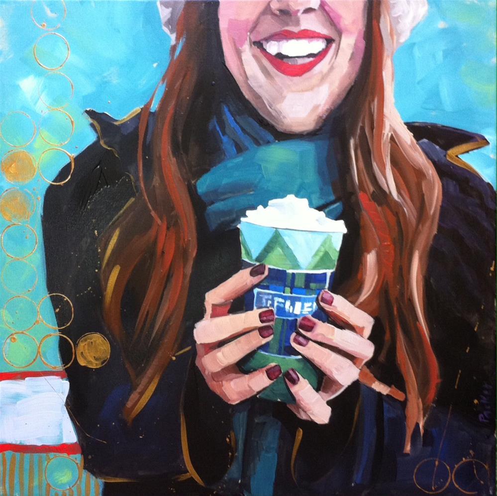 """Portrait Series No.4"" original fine art by Teddi Parker"