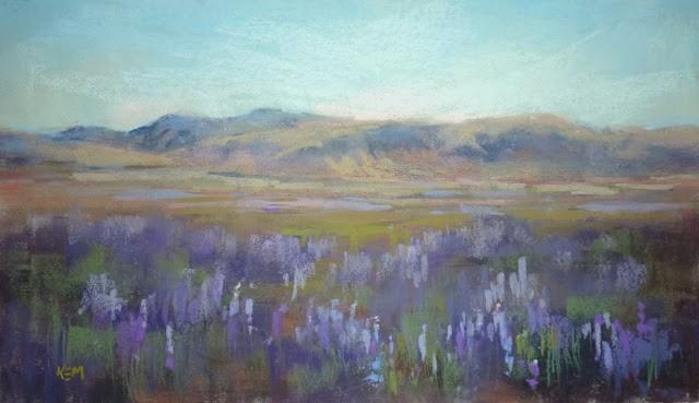 """An Essential Color for your Pastel Box"" original fine art by Karen Margulis"