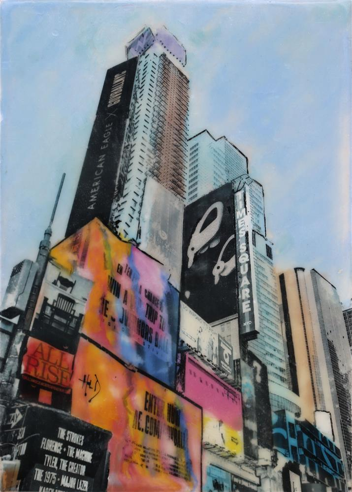 """Times Square 2"" original fine art by Heather Douglas"