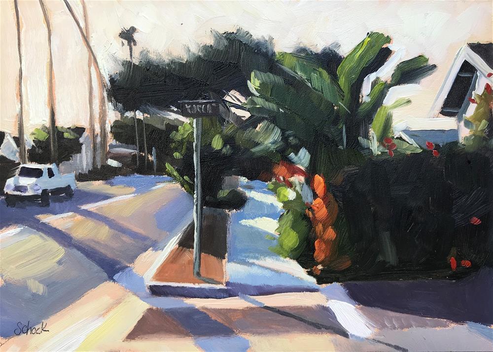 """""""Sunset Glow"""" original fine art by Sharon Schock"""