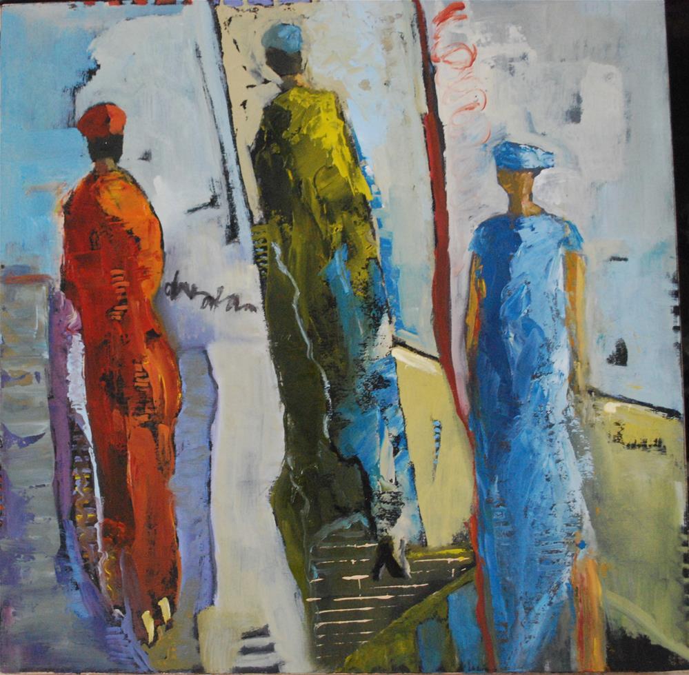 """""""Terminal Gait"""" original fine art by Deborah Harold"""