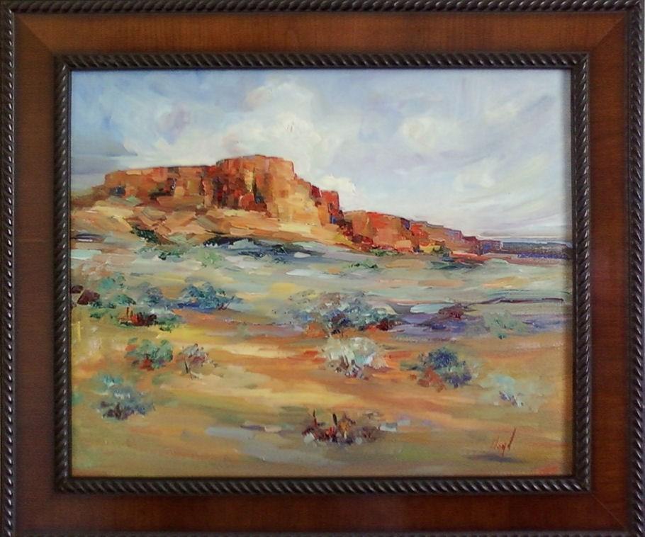 """""""Vermillion Cliffs"""" original fine art by Diane Lloyd"""