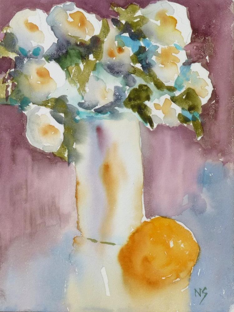 """Dallas Flowers 14059"" original fine art by Nancy Standlee"