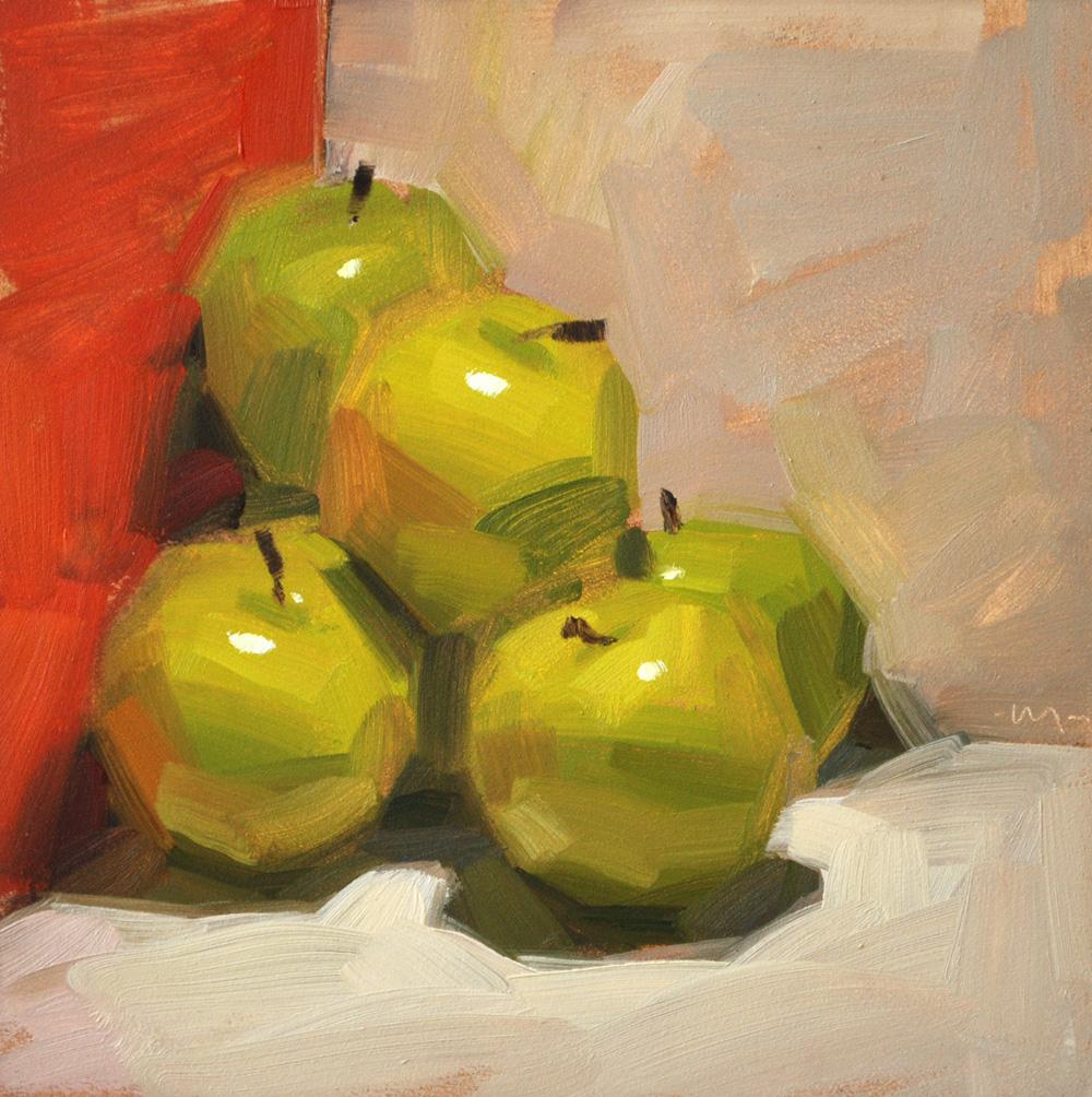 """""""Piled in a Corner"""" original fine art by Carol Marine"""