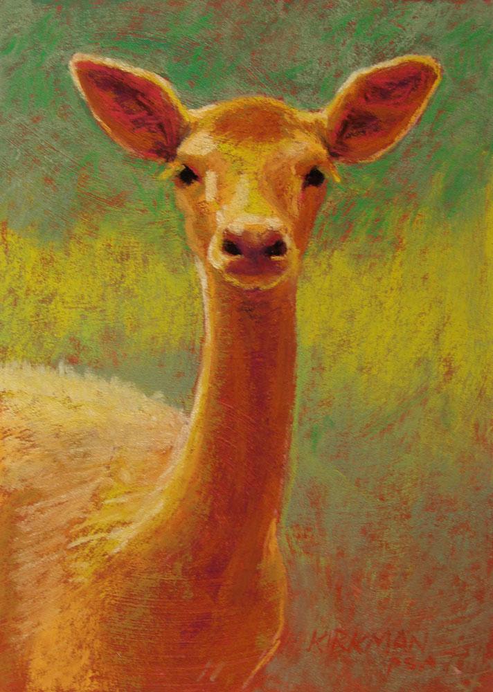 """Amber"" original fine art by Rita Kirkman"