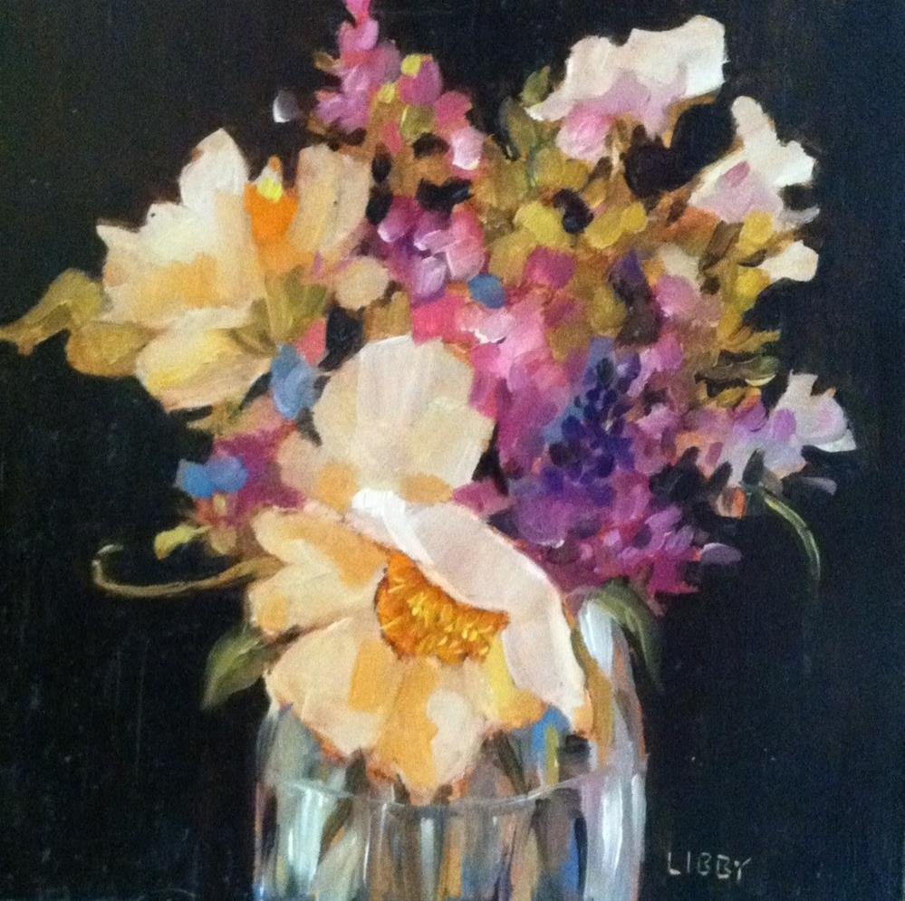 """Delicate"" original fine art by Libby Anderson"