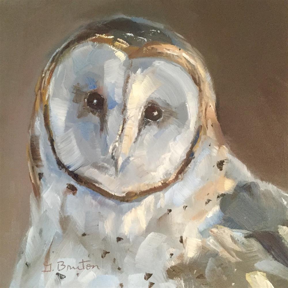 """That Face"" original fine art by Gary Bruton"