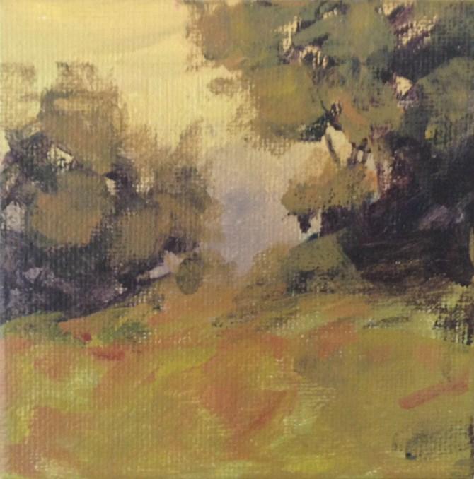 """""""Quiet Conversation"""" original fine art by Shannon Bauer"""