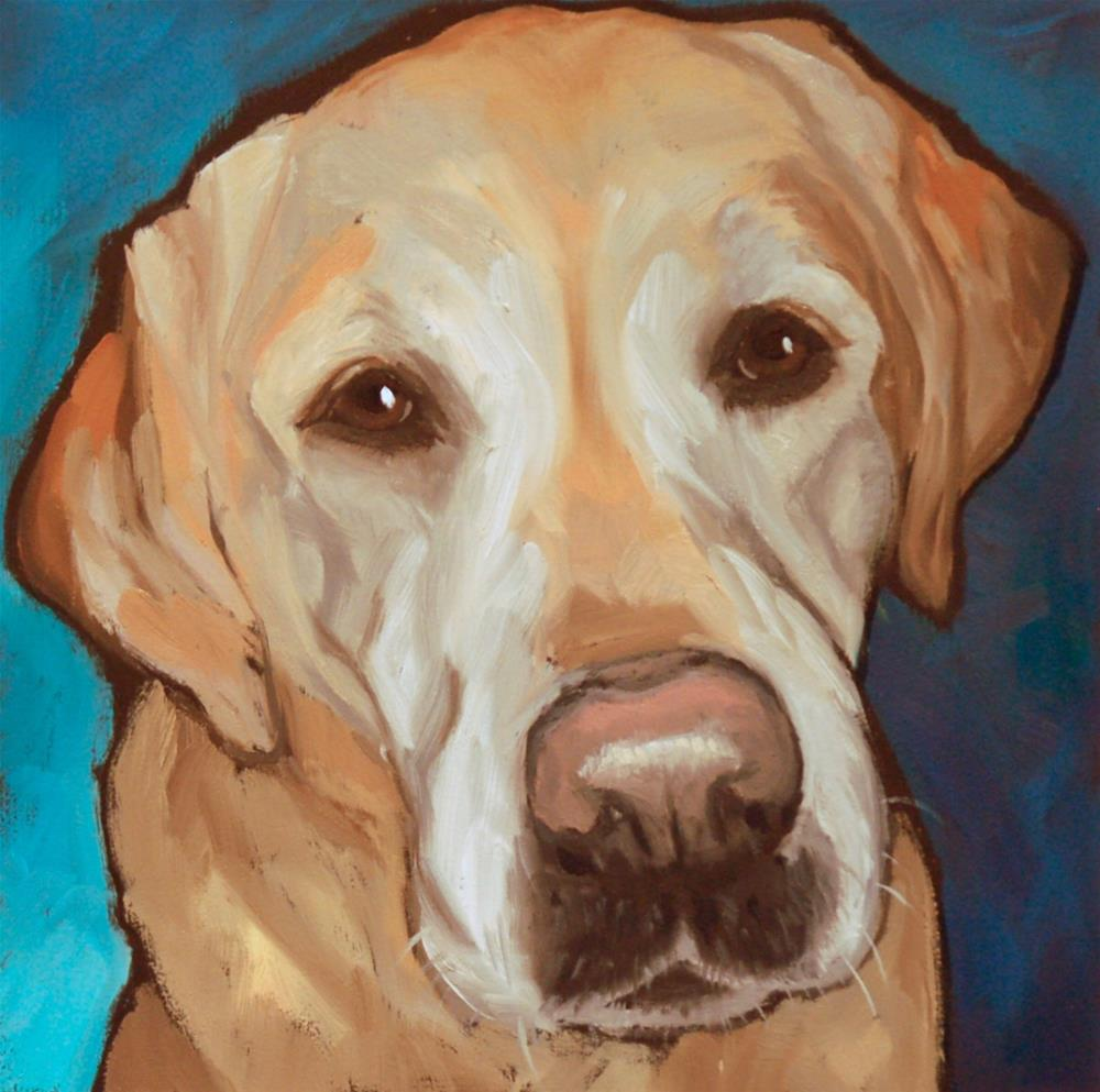 """Ruben"" original fine art by Philla Barkhorn"