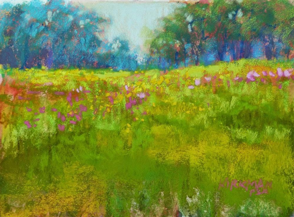 """""""Wildflower Field #33"""" original fine art by Rita Kirkman"""