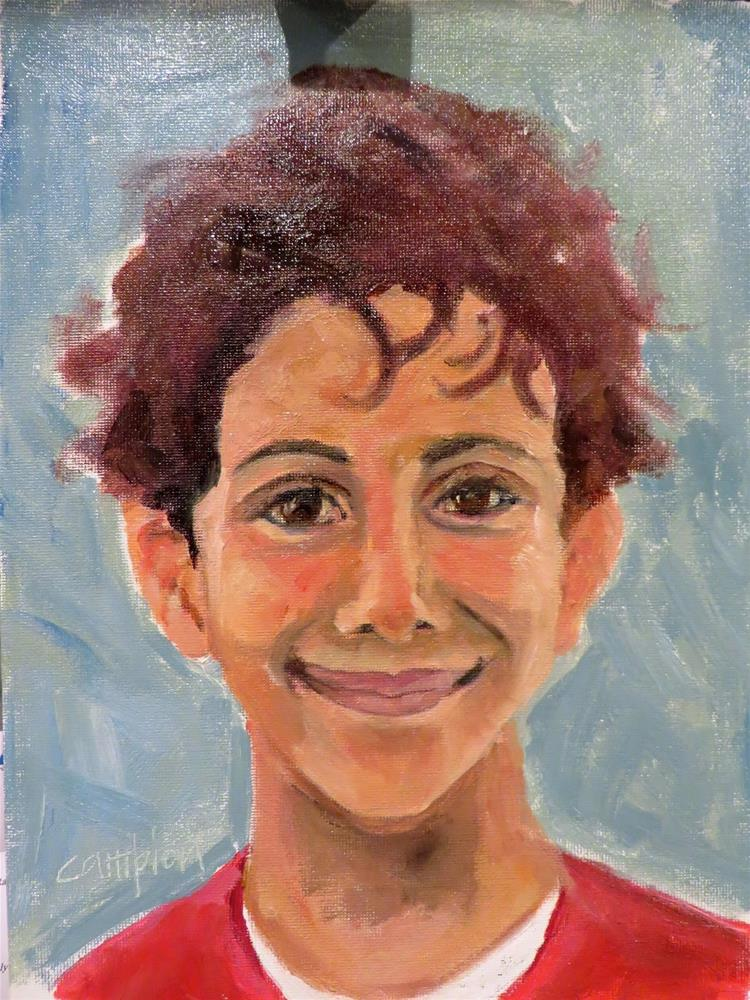 """779. Tareq"" original fine art by Diane Campion"