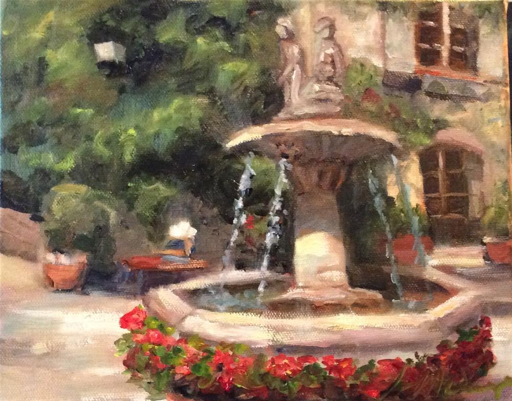 """Paris Morning"" original fine art by Susie Monzingo"