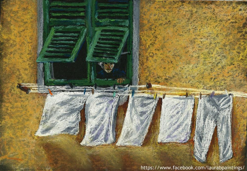 """Sunny Days"" original fine art by Laura B."