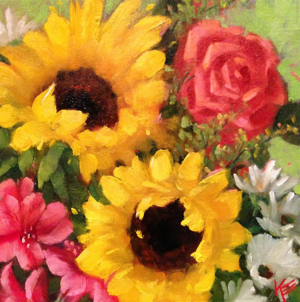 """Celebrate"" original fine art by Krista Eaton"