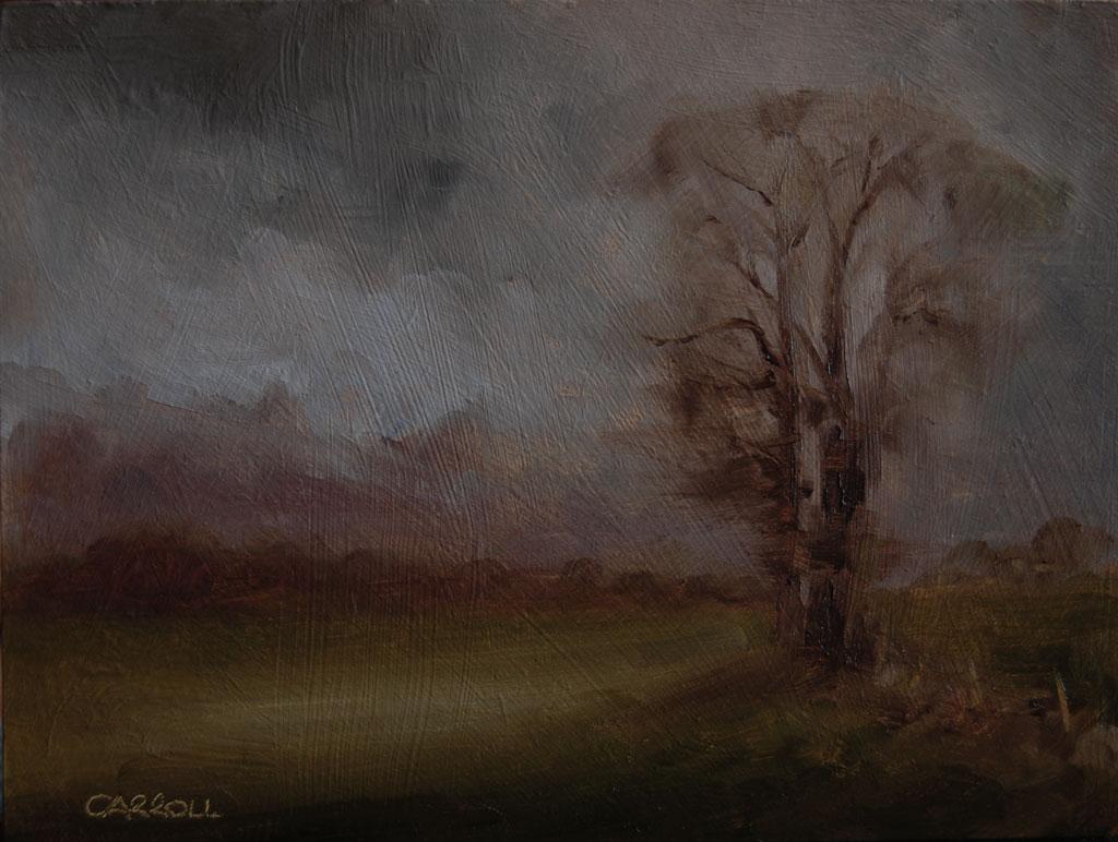 """Grey Day"" original fine art by Neil Carroll"