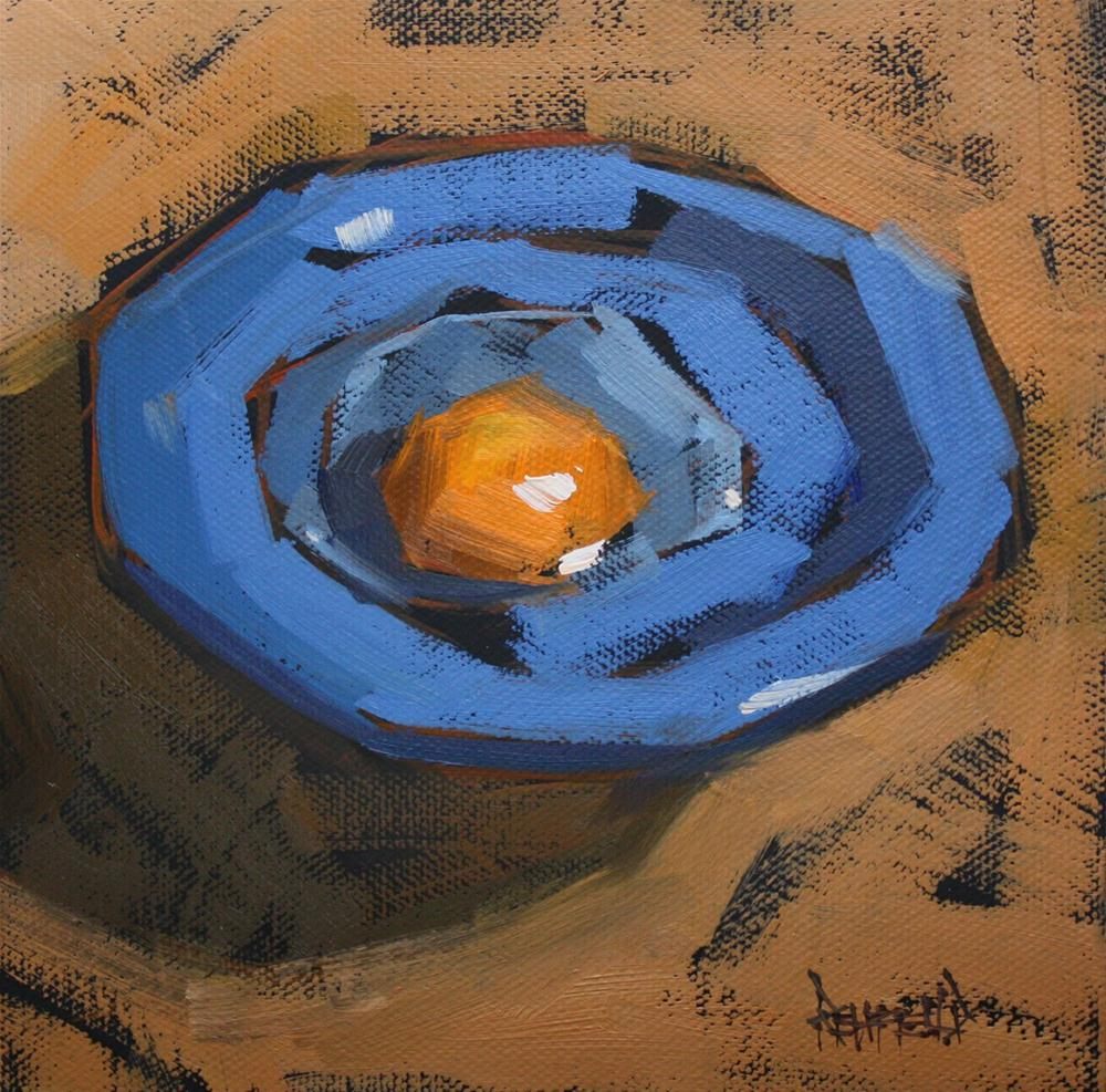 """Yolk"" original fine art by Cathleen Rehfeld"