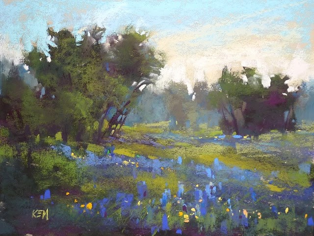 """Back From the Texas Hill Country: Workshop Report"" original fine art by Karen Margulis"
