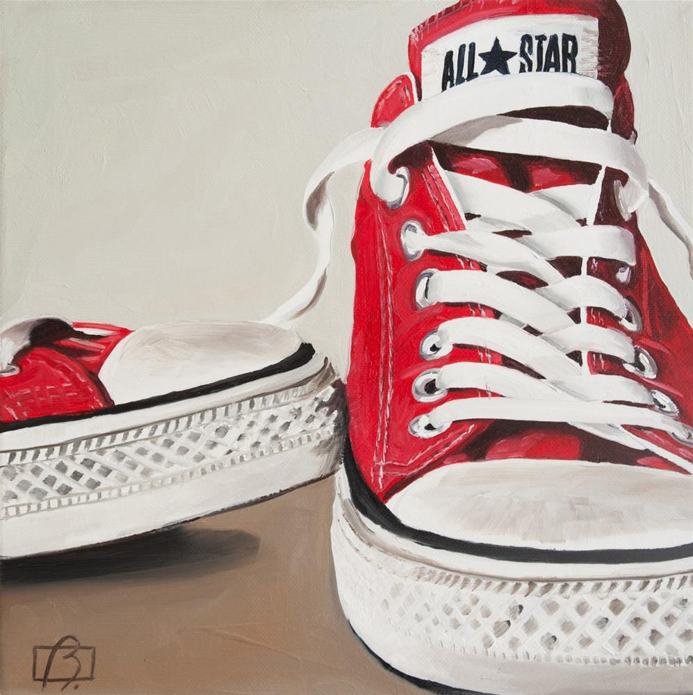 """Convers-ation"" original fine art by Andre Beaulieu"