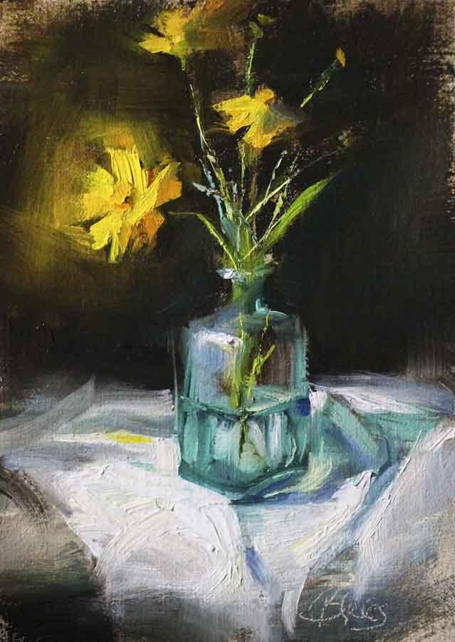 """Sunny Side Up"" original fine art by Pamela Blaies"