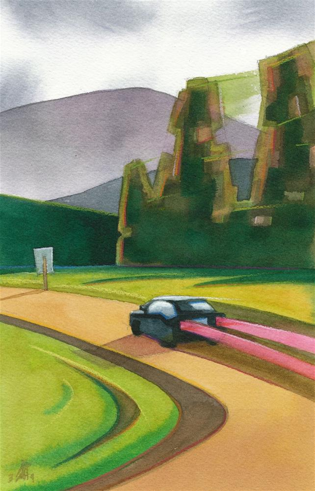 """""""Zoom"""" original fine art by Mark Allison"""