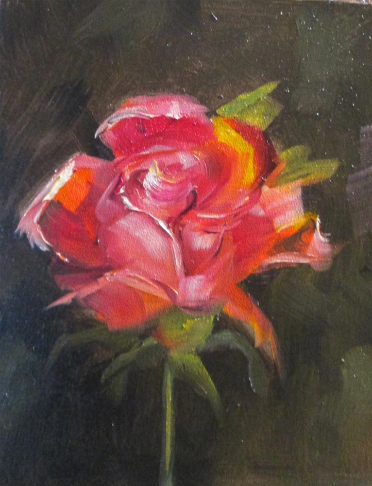 """Rose No.7"" original fine art by Delilah Smith"