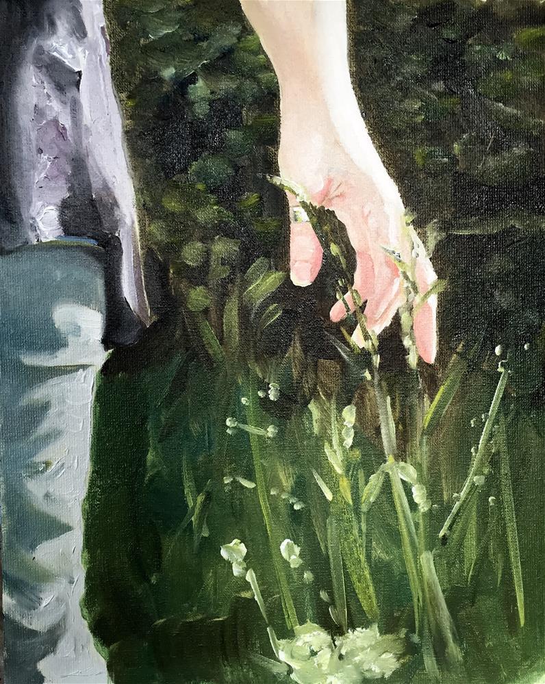 """Leaves of Grass"" original fine art by James Coates"