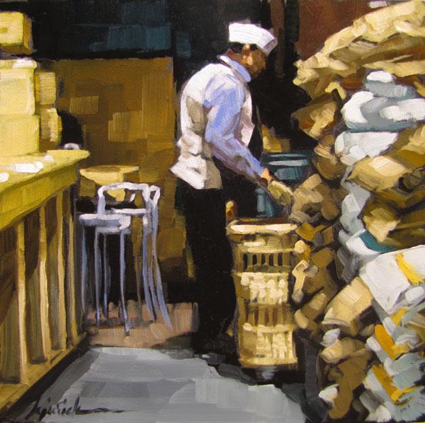 """""""Flour Arrangement"""" original fine art by Karin Jurick"""