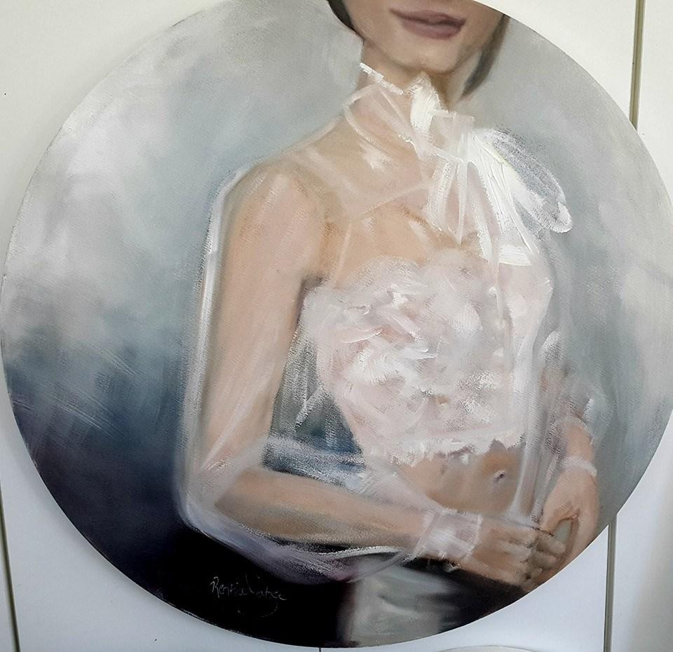 """Sheer"" original fine art by Rentia Coetzee"