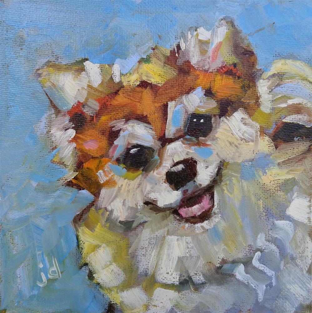 """""""The Stuffin"""" original fine art by Jean Delaney"""
