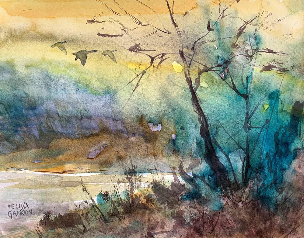 """Song of Hope"" original fine art by Melissa Gannon"