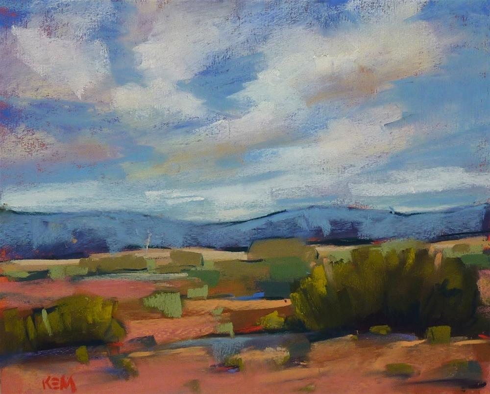 """What Daily Road Trip Paintings Did for Me"" original fine art by Karen Margulis"