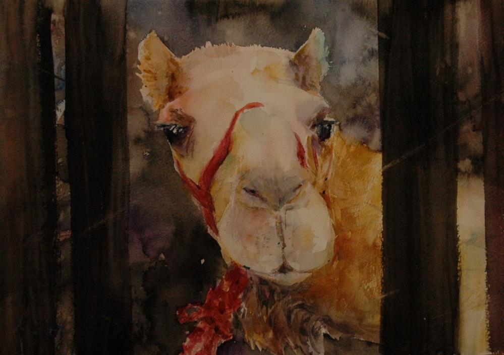 """""""Hiding"""" original fine art by Midori Yoshino"""