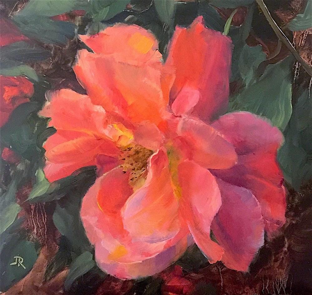 """Natural Beauty"" original fine art by June Rollins"