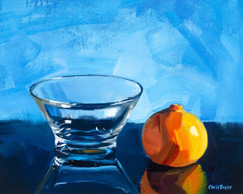 """Tangerine Dream"" original fine art by Chris Breier"