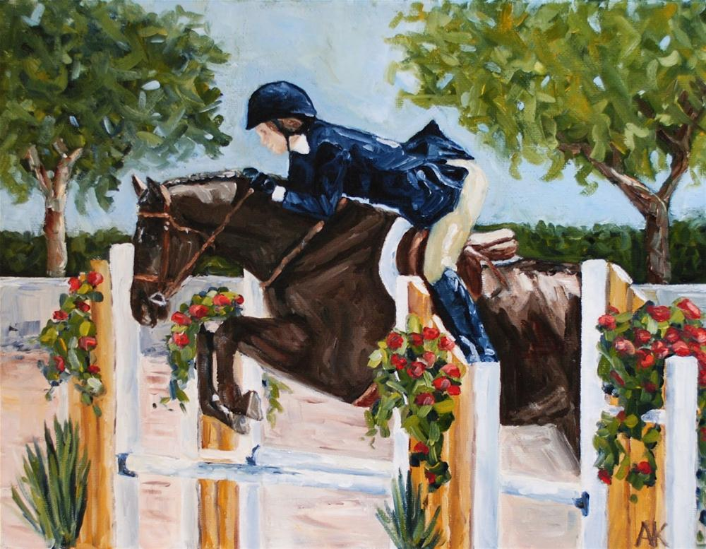 """""""The Memorial Day Classic"""" original fine art by Alison Kolkebeck"""
