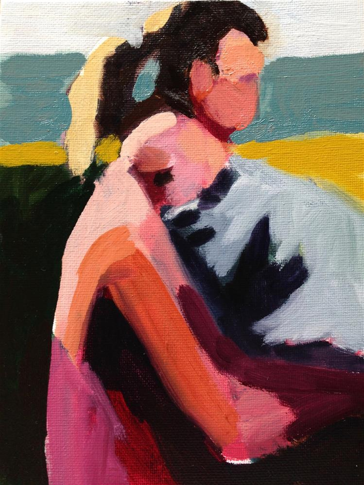 """Baby Love"" original fine art by Pamela Hoffmeister"