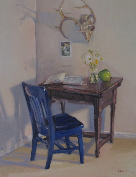 """The Open Book"" original fine art by Sarah Sedwick"