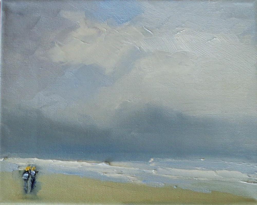"""Foggy in the morning"" original fine art by Astrid Buchhammer"