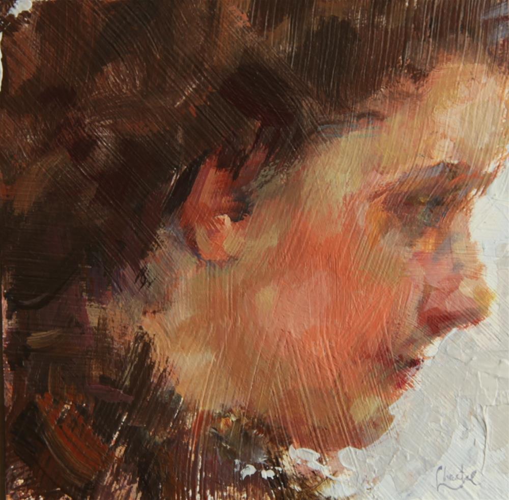 """Impression"" original fine art by Chantel Barber"