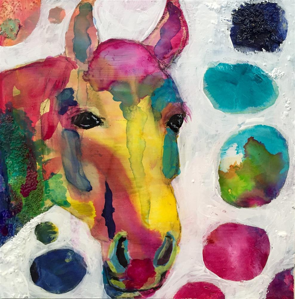 """#54 Just Start"" original fine art by Silke Powers"