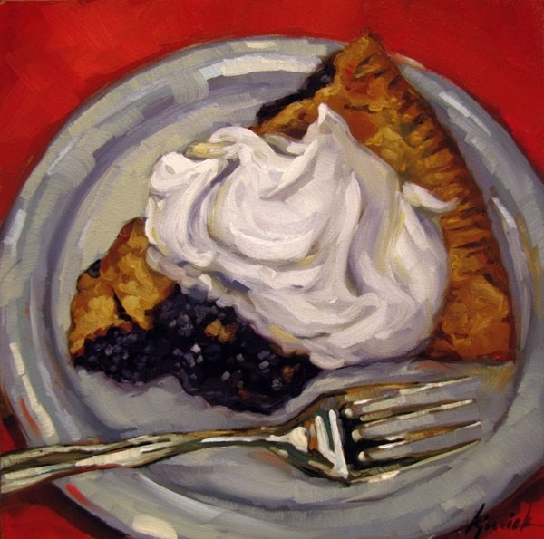 """Berry Yummy"" original fine art by Karin Jurick"