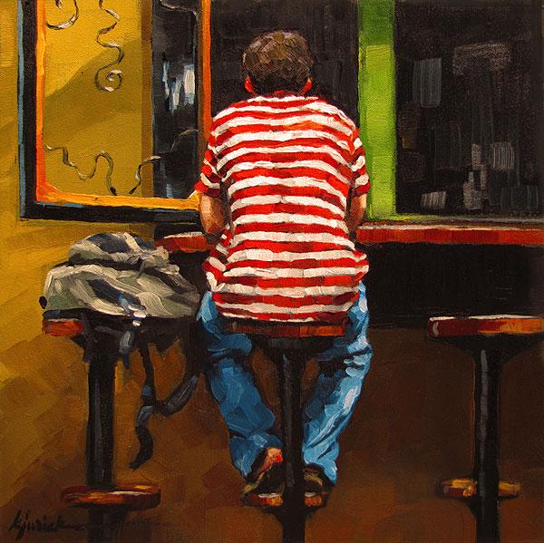 """Alfresco"" original fine art by Karin Jurick"