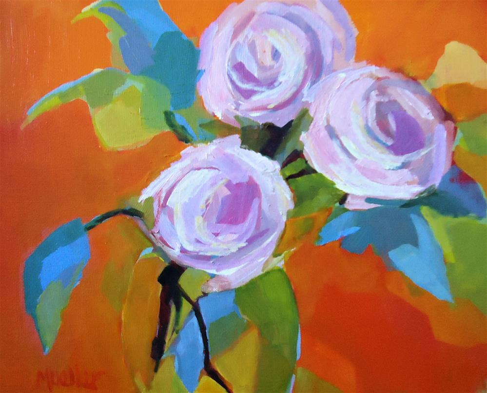 """""""I Like That About You"""" original fine art by Laurie Mueller"""