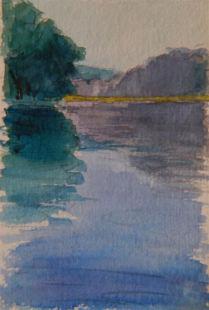 """River Song, A Study"" original fine art by Lisa Kyle"
