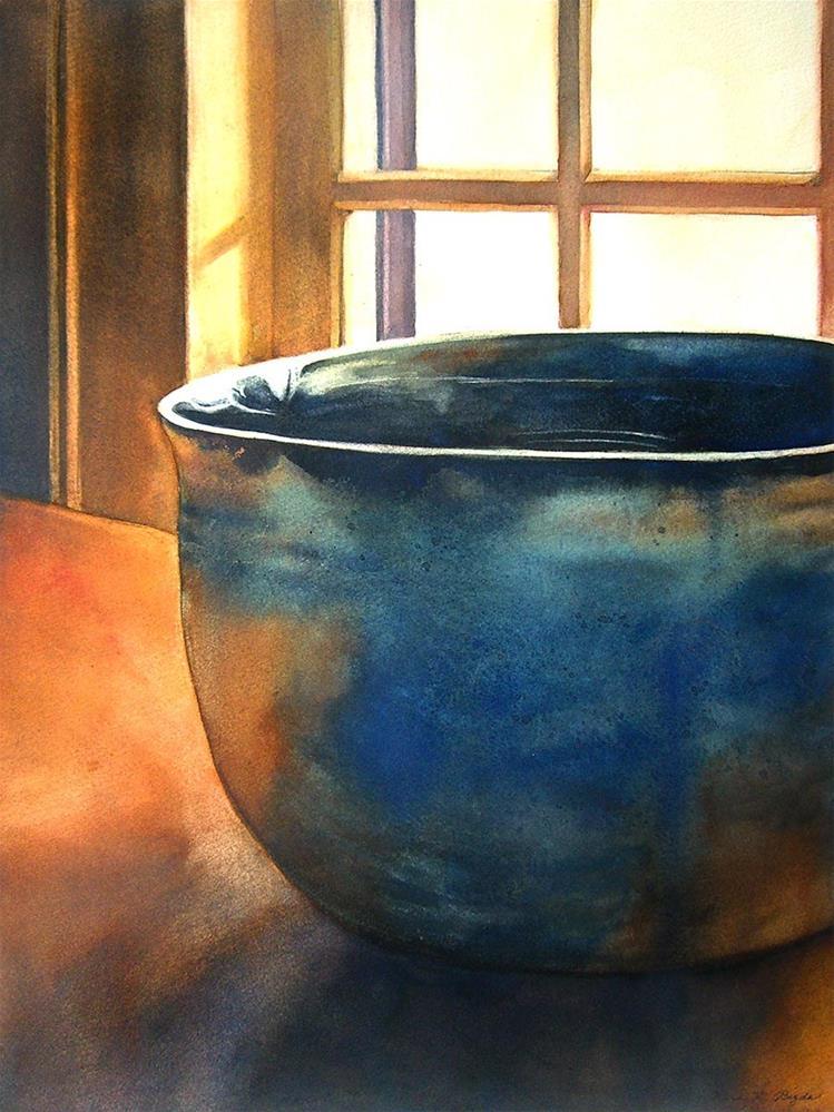 """Morning Blues"" original fine art by Kara K. Bigda"