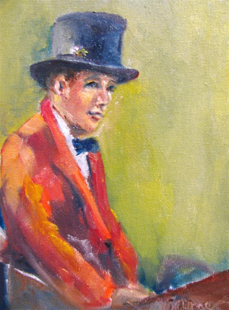 """The Hunt"" original fine art by Susan Elizabeth Jones"