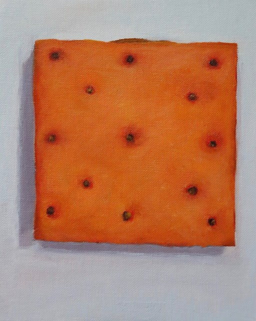 """Going Crackers"" original fine art by Sharon Lewis"