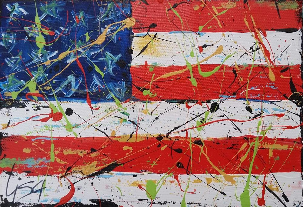 """""""141 - Another Great 4th"""" original fine art by Lisa Rogers"""