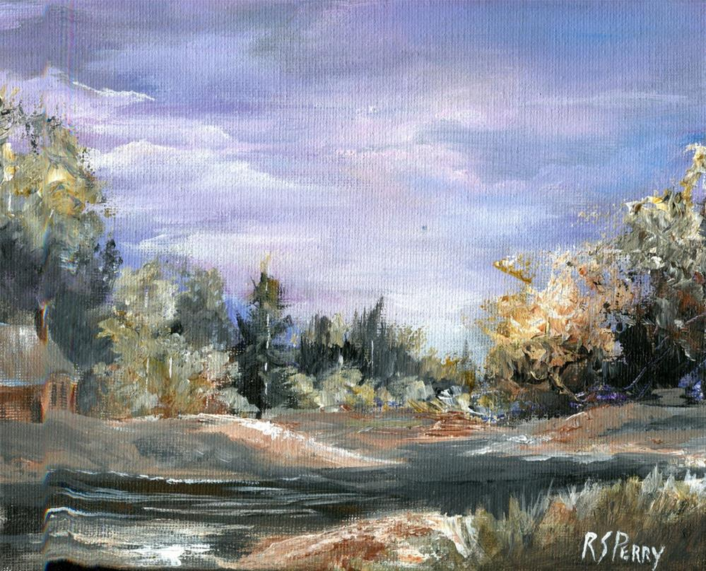"""Early Evening "" original fine art by R. S. Perry"