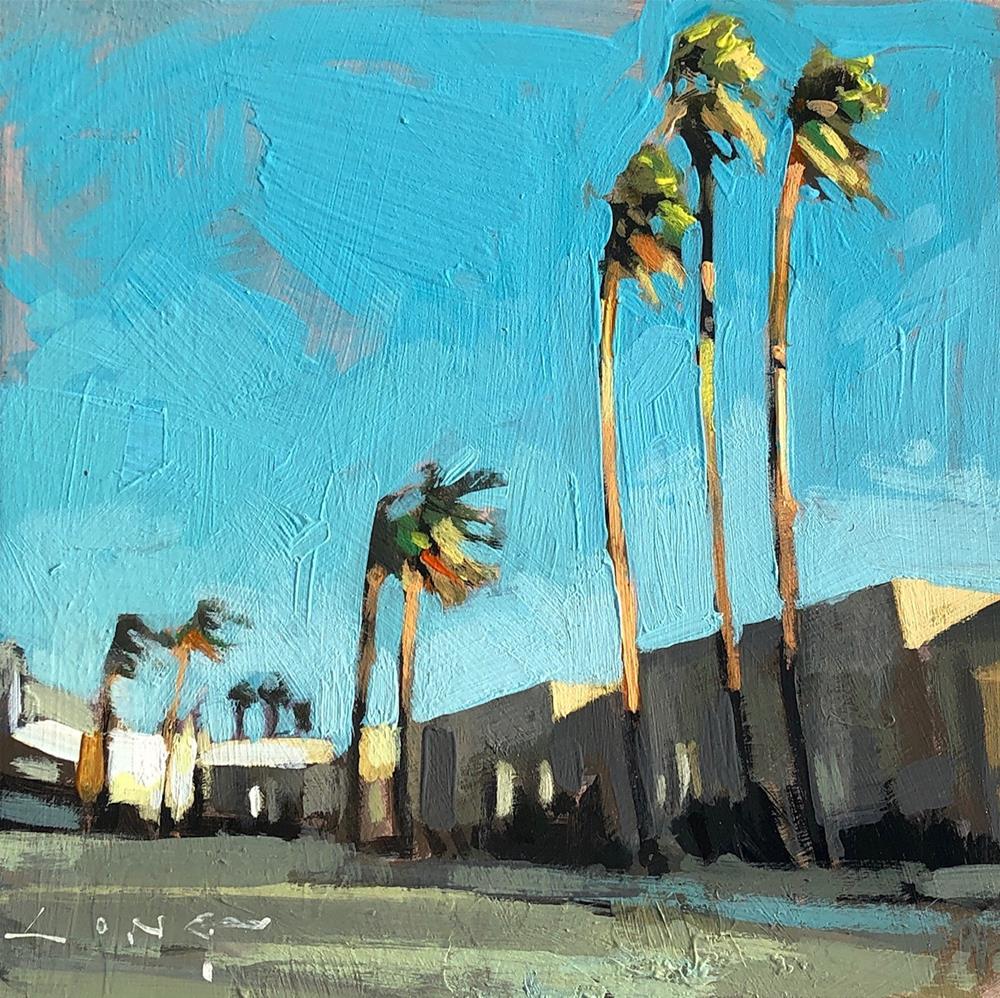 """Windy"" original fine art by Christopher Long"